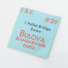 Bulova 7Al #39 Pallet Bridge Screw Parts Genuine New Old Stock Watchmakers