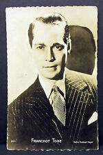Franchot Tone - Actor Movie Photo- Foto Autogramm- Karte AK  (Lot-Z-2383)