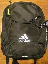 adidas Climaproof Stadium Team Gear Up Soccer Football Backpack Black