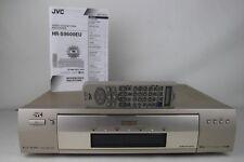 JVC hr-s9600 TBC Super-VHS VIDEO RECORDER VIDEOREGISTRATORE VCR ShowView * TOP dispositivo *