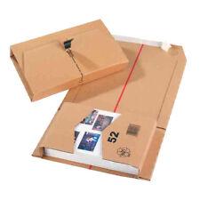 Marrón Correo Caja MAILER para ENVÍO CD DVD 251x165x60mm 20 unidades 11208