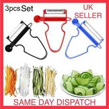 Magic Trio Peeler( Set of 3), Vegetable and Fruit Peeler UK SELLER