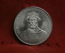 Poland 50 Zlotych 1980 World Coin Imperial Eagle Polish Duke Kazimierz