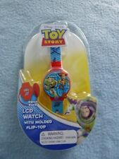 Disney Pixar Toy Story LCD Kids Flip top Watch ~ New ~ Fast Shipping!