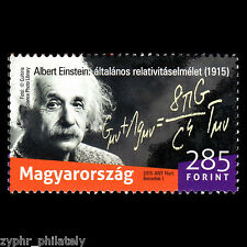 "Hungary - ""ALBERT EINSTEIN ~ THEORY OF RELATIVITY"" MNH Stamp 2015 !"