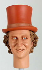 1:6 Custom Head of Gene Wilder as Willie Wonka With Removable Hat Version 2