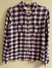 Junior Holister Flannel Long Sleeve Button Up Shirt