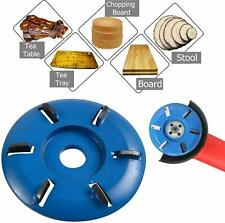 Wood Carving Disc Turbo Plane 3/4/5/6 Tooth Angle Blade Grinder Milling Cutter