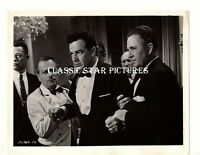 1B29 Cornel Wilde with ? The Devil's Hairpin 1957 lot of 3 vintage photos