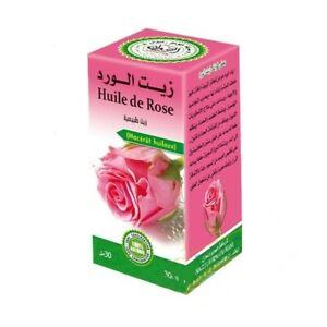 Huile de Rose de Damas 100% Pure et Naturelle 30 ml, Pure Rose Oil