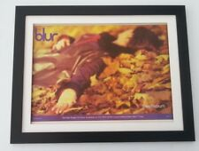 More details for blur*beetlebum81997*original*poster*ad*framed*fast world ship