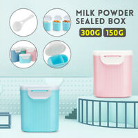 Baby Milk Powder Storage Box Sealed Large Capacity Food Grade PP Container Pot