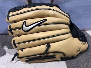 """Nike Diamond Elite Edge 12"""" Baseball Softball Glove RHT Used Once"""