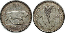 IRLANDE SHILLING 1933 KM#6 XF!!!
