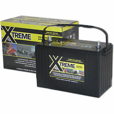 Xtreme Deep Cycle 120ah AGM Leisure Battery Caravan,Camper,Marine,Boat