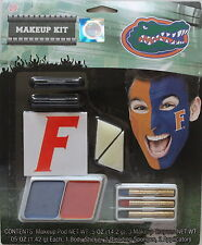University Of Florida Makeup Kit Sticker NCAA Team Spirit Fan Game Day Wear