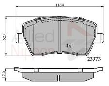 Allied Nippon Front Brake Pad Set ADB0984  - BRAND NEW - 5 YEAR WARRANTY