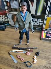 Jaws Sam Quint ? 8? Clothed Action Figure - NECA NEW LOOSE & COMPLETE Free S/H