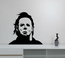 Michael Myers Wall Decal Horror Halloween Vinyl Sticker Art Room Movie Decor mm2