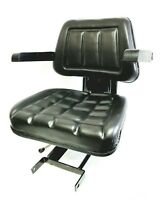 MAHINDRA TRACTOR SEAT ASSEMBLY (SLIDING) WITH ARM REST.