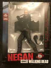 "10"" Walking Dead Negan Figure NEW WITH DAMAGED BOX"