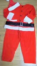 Christmas Santa Suit Costume XL Halloween Men's