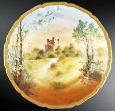 Royal Doulton Signed Dinner Plate of Rochester Castle