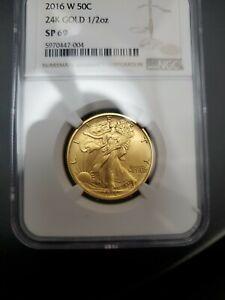 2016 100th Anniversary Centennial Walking Liberty Gold Coin PCGS SP69