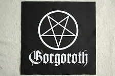 Gorgoroth Back Patch (Bp135) Black Death Metal Behemoth Dark Throne Immortal