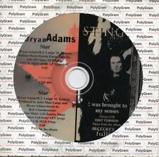 ★☆★ CD SINGLE Bryan ADAMS STING	Star  I was Brought to my senses PROMO MEXICO