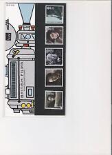 1985 ROYAL MAIL PRESENTATION PACK BRITISH FILMS MINT DECIMAL STAMPS