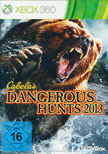 Microsoft XBOX 360 Spiel * Cabela´s Dangerous Hunts 2013 Cabelas Big Game Hunter