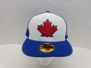 New Era MLB Toronto Bluejays Fitted Hat/Cap 59FIFTY 7 7/8 NEW W/TAGS