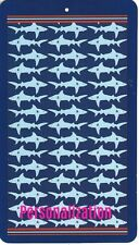 Youth Size 30 X 60 Inch Personalized Beach Pool Towel Shark Design New