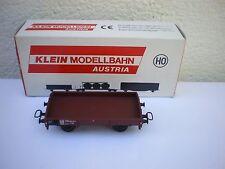 KLEIN MODELLBAHN HO Wagon Plat DB 3146