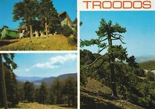 * Cyprus 1970's TROODOS Postcard * MOUNTAINS MULTIVIEW * TRIARCHOS 346 *