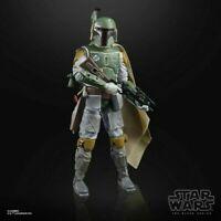"Star Wars 40th Anniversary Black Series 6"" Boba Fett Empire In Stock"