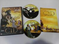 EL CID LA LEYENDA 2 X DVD + EXTRAS FILMAX ESPAÑOL ENGLISH EDICION ESPECIAL REG 2