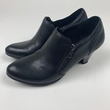 Boc Womens Size 9.5 Comfort Shoes Zip Up Pointed Toe Non Marking Z25103