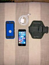 Apple ipod Touch 5th Gen 16 Gb, Black/Silver- Great Condition and extras