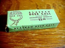 Western Call & Decoy Co. Alaskan Deer Call In Box with Papers