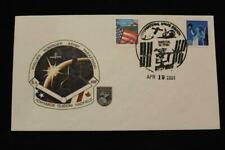 SPACE COVER 2001 FANCY CANCEL STS-100 ENDEVOUR ISS ASSEMBLY FLT 6A LAUNCH (5210)