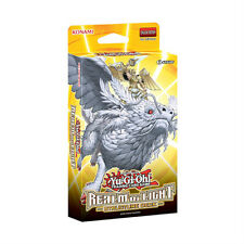3x Yugioh cards REALM OF LIGHT 1ST EDITION Structure Deck SEALED IN HAND!!