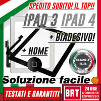 TOUCH SCREEN ORIGINALE PER APPLE IPAD 3 WIFI 3G A1430 A1416 A1403 SCHERMO VETRO!