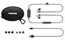 SHURE SE215-CL-BT1-EFS Wireless Bluetooth Sound Isolating Earphones w/mic, Clear
