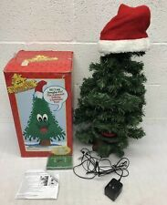 Gemmy Douglas Fir / The Talking Tree / Animated 24� Christmas Tree 1996