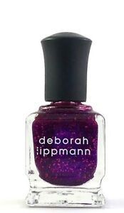 Deborah Lippmann Glitter Nail Polish FLASH DANCE 15ml/.5oz New in Box