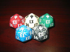 5 Duel Decks DICE COMPLETE SET Collection Spindown Life Counter 20 Sided MTG D20