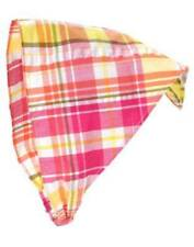 NWT Gymboree Citrus Cooler Pink Yellow Green Plaid Headscarf Hair OS 3 4 5 6 7 8