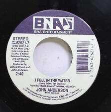 Country Nm! 45 John Anderson - I Fell In The Water / All Things To All Things On